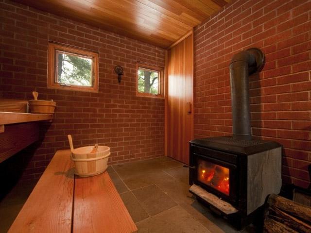 фото кирпичная баня