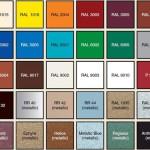 Разнообразие цветов металлочерепицы