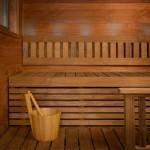 Термодревесина в отделке бани