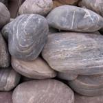 Речные камни для бани - перидотит