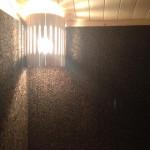 Внутренняя отделка бани Термокорком