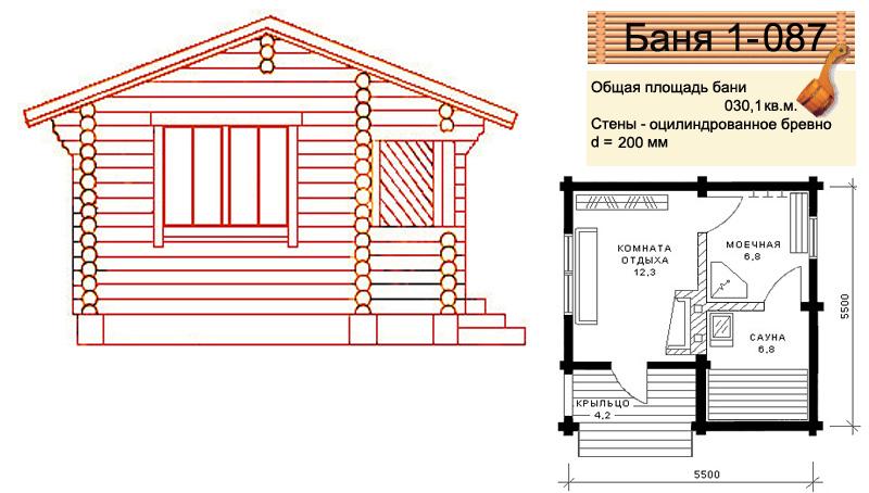 Русские бани своими руками построить