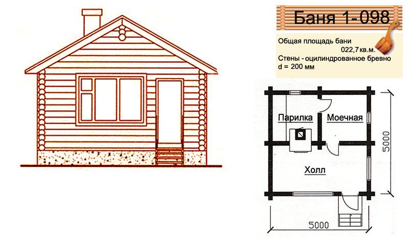 Как построить баню 4 на 4 проекты