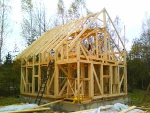 Как построить каркасную баню