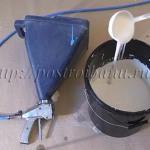 Нанесение жидкой теплоизоляции краскопультом