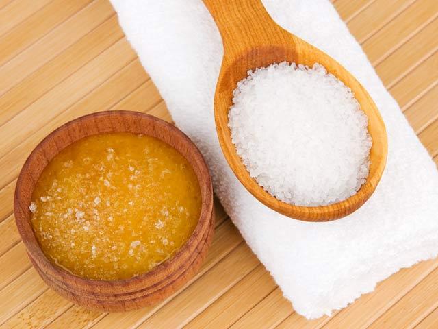 Мёд и соль в бане