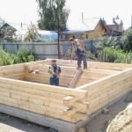 Как построить баню своими руками