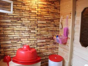 Декоративная плитка в бане