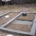 Как сделать фундамент под печь в баню