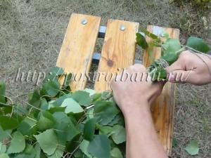 Как вязать веники для бани