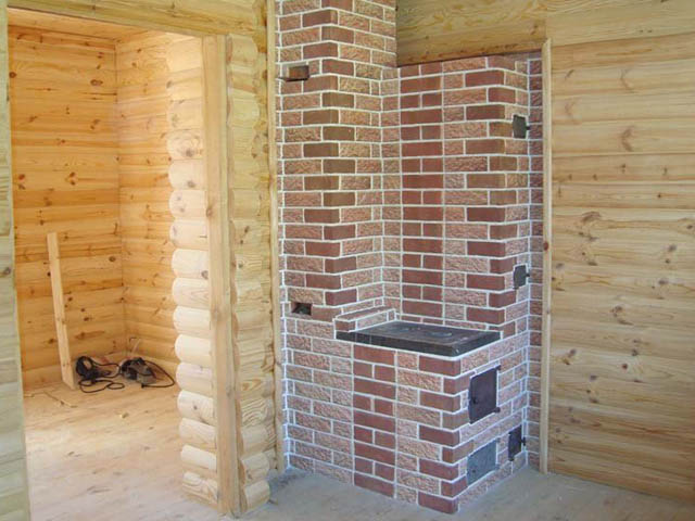 Огнеупорные плитка для бани