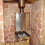 Терракотовая плитка в бане