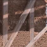 Утепление каркасной стены керамзитом