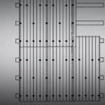 Монтаж металлочерепицы (места крепления саморезами)