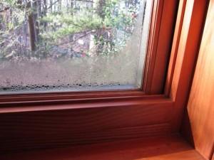 Запотевшие пластиковые окна