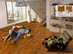 Линолеум в квартире