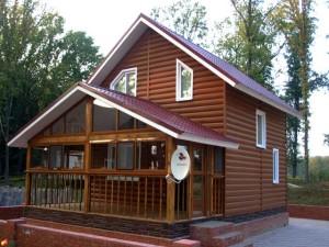 Готовый дом из сэндвич панелей