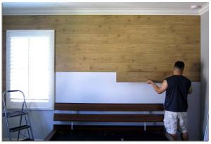 Укладываем ламинат на стену
