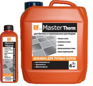 Пластификатор для бетона тёплый пол