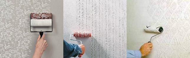 Как сделать шершавые стене 83