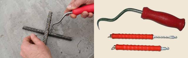 Как сделать крючок для вязки арматуры своими руками 40