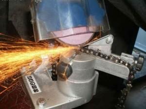 Как правильно точить цепь бензопилы напильником видео