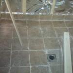 Как залить полы в бане под слив