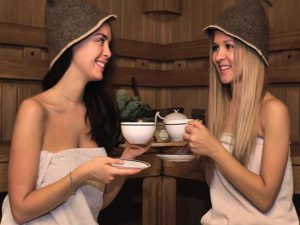 готовим чай в бане своими руками