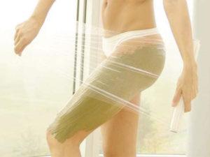 Обёртывание в бане для быстрого похудения