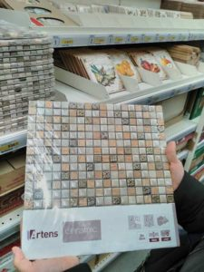 Выбираем мозаику