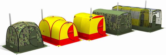 Баня палатка: разнообразие выбора