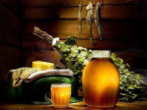 Готовим напитки для бани и сауны