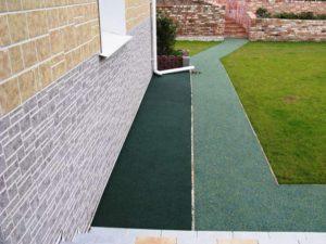 Отмостка вокруг дома своими руками: устройство бетонной, из плитки, щебня