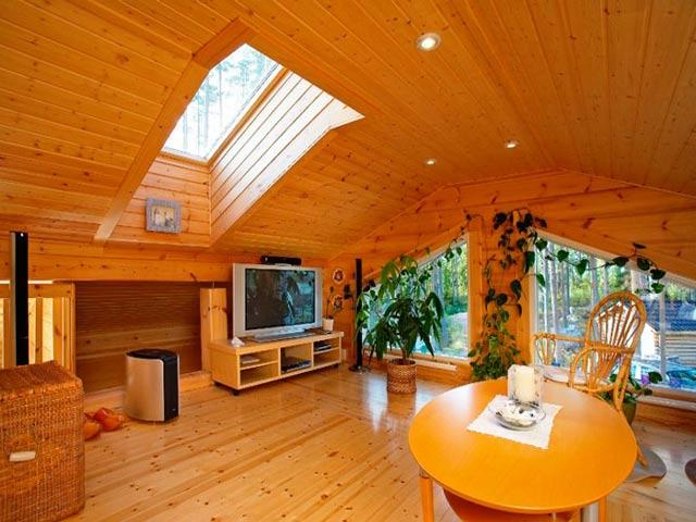 Чем отделать потолок в частном доме своими руками 46
