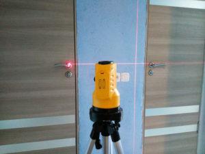 Строительный лазерный уровень