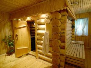 Необычные бани из бревна