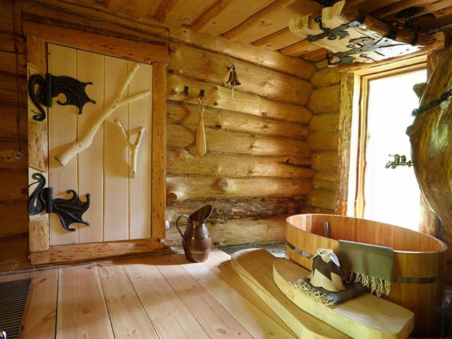 фото красивая баня
