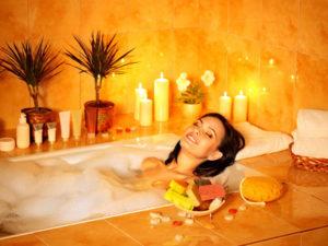 Уход за волосами в бане (спа-процедуры)