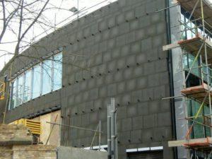 Пеностекло: утепление фасада