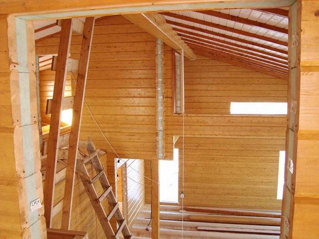 Строительство дома из термобруса