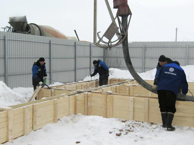 Можно ли строить баню зимой особенности монтажа