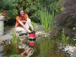 Дренажный насос для сада