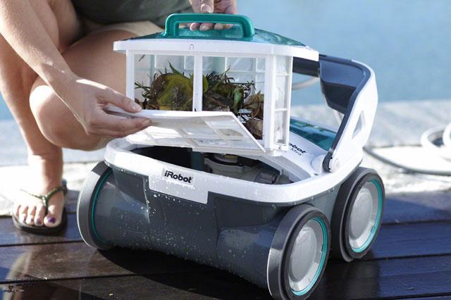 Чистим робот для бассейна
