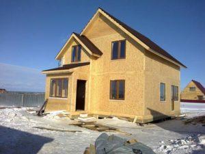 Каркасный дом из СИП