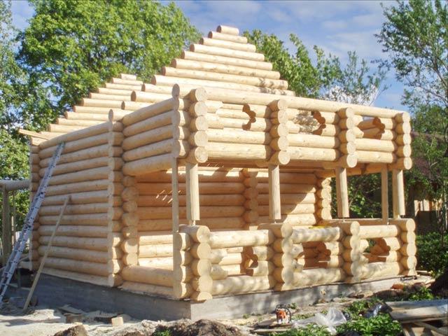 Строительство двухэтажной бани