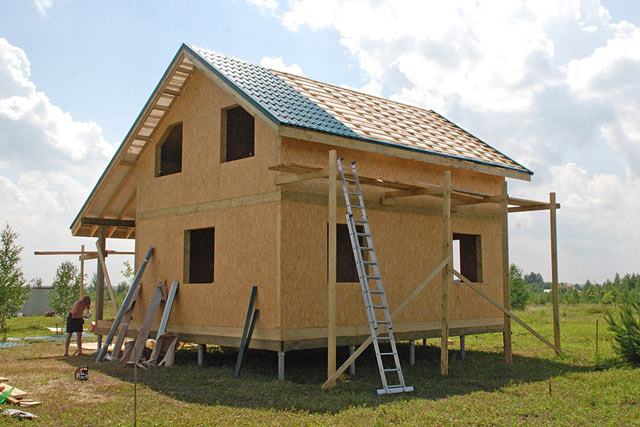 Строительство каркасного дома под ключ