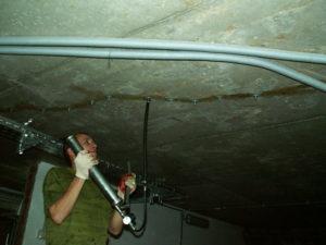 Инъекционная гидроизоляция подвала изнутри от грунтовых вод