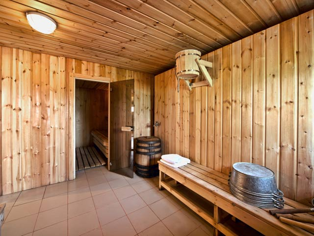 Внутренняя отделка бани - мойка