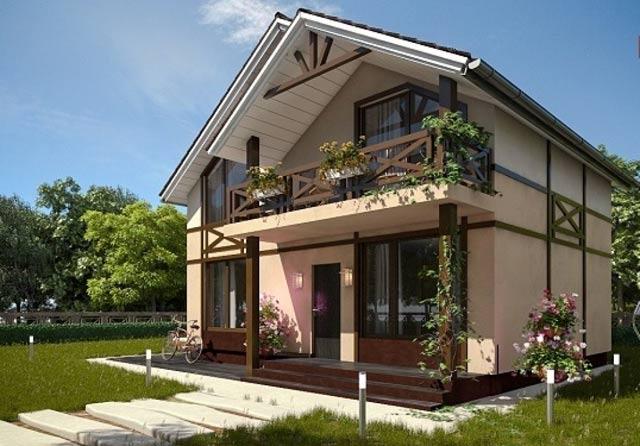 Проект дома 100 кв. м.