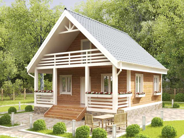 проект каркасного дома 80 м. кв.